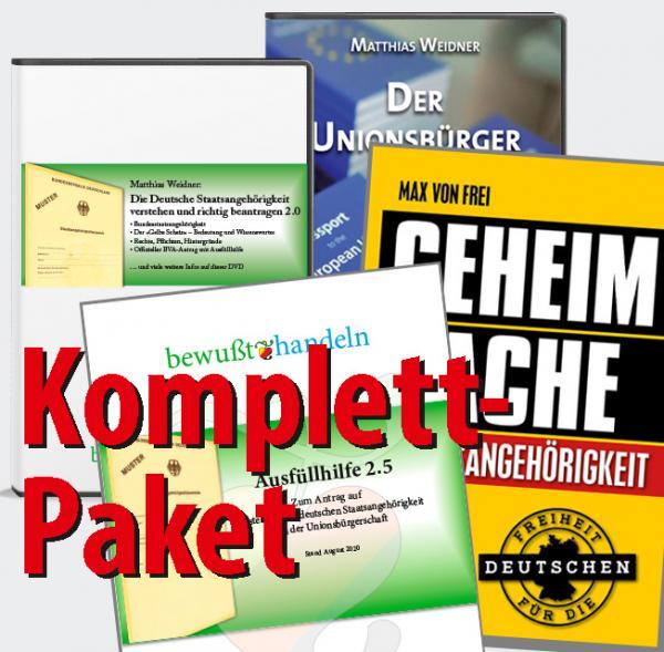 Komplett-Paket: 2x DVD + Buch + Ausfüllhilfe 2.5, Stand August 2020  Bewußt-Treff