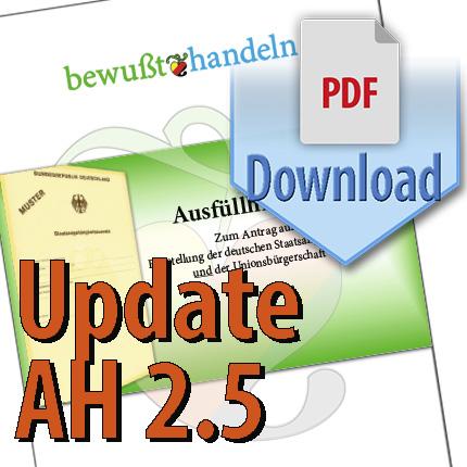 Update Ausfüllhilfe 2.5 als Download; nur für frühere Versionen (vor August 2020)  Bewußt-Treff